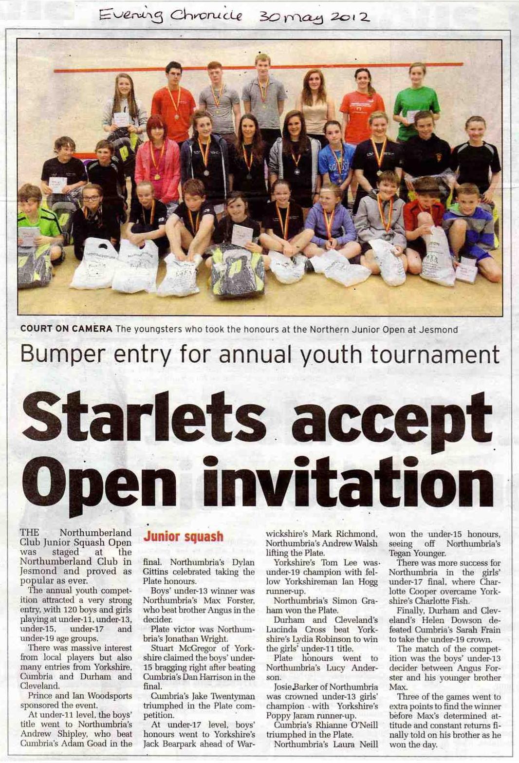 N'land Junior Open april12