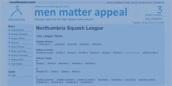 Northumbria Leagues