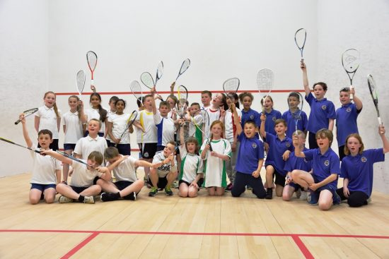 ALL WINNERS: players from the three Gosforth Middle Schools