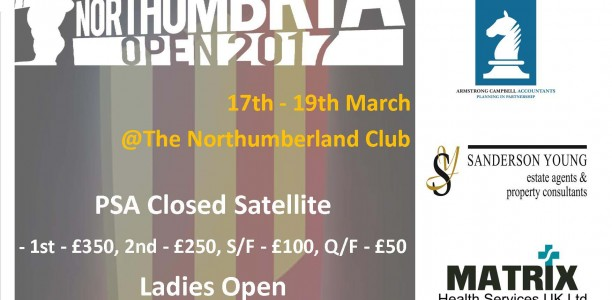 Northumbria Open 2017