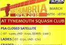 Northumbria Open 2018