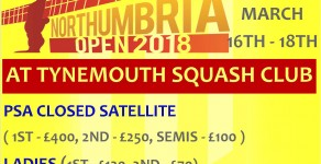 Northumbria Open 2018